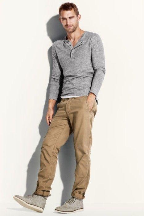 casual menswear pants