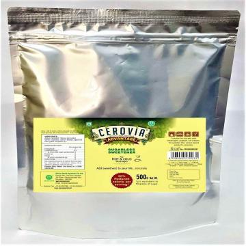 Using the stevia